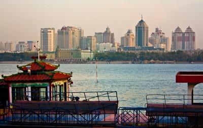 Harbin riverside