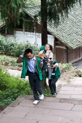 The easy way to climb Mt. Emei