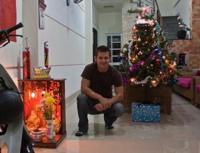 Me in my hotel in Nha Trang