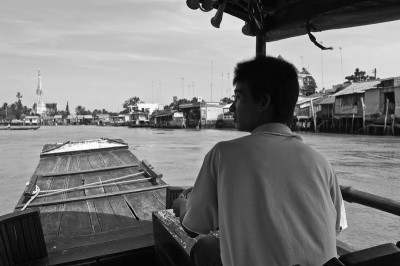 Impressions from the boat tour on the Mekong river