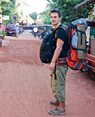 backpacker and traveller