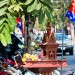These little buddhist shrines/temples can be found everywhere on the streets in Cambodia
