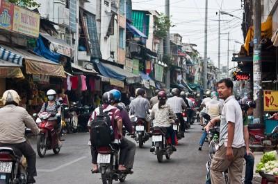 Saigon (or Ho Chi Minh city)
