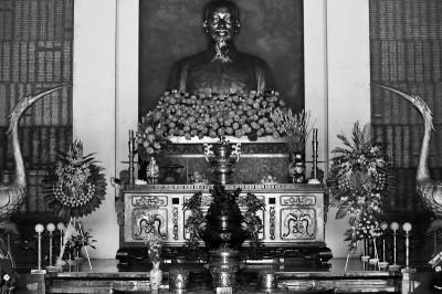 Ho Chi Minh statue near the Cu Chi Tunnels