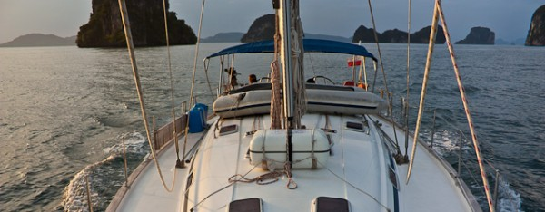Toone sailing in Thailand