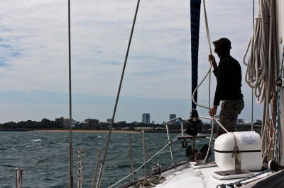 Finally approaching Darwin after 2 weeks on the sea!